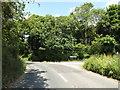 TM1573 : B1077 Cranley Road, Eye by Adrian Cable