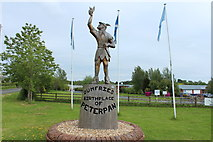 NX9575 : Peter Pan at Garden Wise, Dumfries by Billy McCrorie