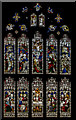 TF0607 : East window, St Michael's church, Uffington by Julian P Guffogg