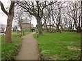 SM7525 : Path to Oriel y Parc, St. David's by Derek Harper