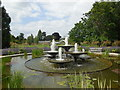 TL4557 : Fountains in Botanic Gardens by Paul Gillett