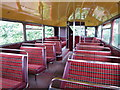 TQ7837 : Inside a Routemaster at Sissinghurst Classic Car Show by Oast House Archive