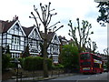 TQ2888 : Houses in Muswell Hill Road by Marathon