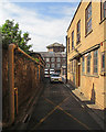ST2224 : Taunton Police Station yard and the former gaol by John Sutton