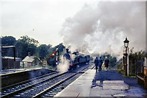 TQ4023 : Steaming North by Peter Jeffery