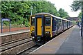 SD6506 : Northern Rail Class 150, 150220, Westhoughton railway station by El Pollock
