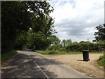 TM1381 : Burston Road, Walcot Green by Adrian Cable