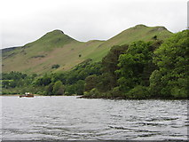 NY2521 : View of Cat Bells from Derwent Water by Gareth James