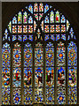 TF0645 : East Window, St Denys' church, Sleaford by Julian P Guffogg