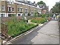 TQ3382 : Shakespeare Garden, St Leonard's church, Shoreditch by David Hawgood