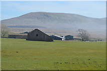 SD7579 : View towards Whernside by N Chadwick