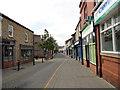 NZ1635 : View down Hope Street, Crook by Robert Graham