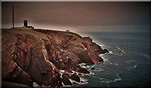 SM8003 : Lighthouse At St Anne's Head by Deborah Tilley