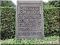 SE2229 : St Paul's, Drighlington: inscription by Stephen Craven