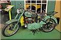 SJ3289 : 1956 BSA C10L motorbike, Wirral Transport Museum, Birkenhead by El Pollock
