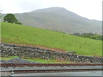 SH5848 : Farmland west of Beddgelert Station by Christine Johnstone
