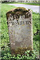 NY6418 : Kings Meaburn / Maulds Meaburn boundary stone by Roger Templeman