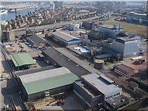TQ3980 : Factories on Bell Lane by Stephen Craven