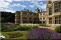 TL5238 : Audley End: east front of the house and Parterre Garden by Christopher Hilton