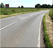 ST7881 : Maximum speed 25mph through the bend ahead near Acton Turville by Jaggery