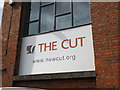 TM3877 : The Cut Arts Centre sign by Adrian Cable