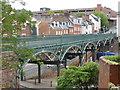 SX9192 : Exeter - Iron Bridge by Chris Allen