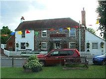 TR2647 : Bell Inn, Shepherdswell by Chris Whippet