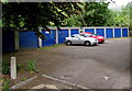 SP4416 : Royal blue lockup garages in Woodstock by Jaggery