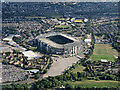 TQ1574 : Twickenham Stadium from the air by Thomas Nugent