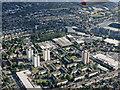 TQ1574 : Twickenham from the air by Thomas Nugent