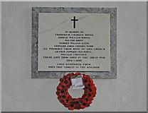 TM1551 : Henley (Suffolk) War Memorial by Adrian S Pye
