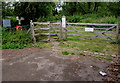 SP4417 : Glyme Close entrance to Woodstock Watermeadows by Jaggery