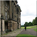SK3622 : Calke Abbey: south front by John Sutton