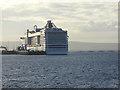 HY4412 : MSC Splendida at Hatston Pier by Oliver Dixon