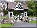 SO8865 : Lych Gate to Hampton Lovett church by Jeff Gogarty