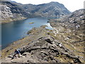 NG4720 : Looking down on Loch Coruisk by David Medcalf
