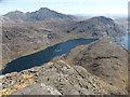 NG4720 : Loch Coruisk & Blabheinn seen from the Dubh Ridge by David Medcalf