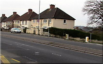 ST3090 : Corner of Malpas Road and Westfield Drive, Malpas, Newport by Jaggery