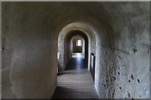 TL7835 : Castle Hedingham: The North minstrels' gallery in the Norman keep by Michael Garlick