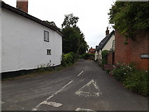 TM0386 : Back Lane, Kenninghall by Adrian Cable