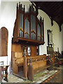 TM0485 : Organ of St.Mary's Church by Adrian Cable