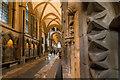 SK9771 : North choir aisle, Lincoln Cathedral  by Julian P Guffogg