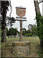 TM1692 : The Forncetts village sign by Adrian S Pye