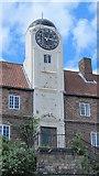 NZ2564 : Clock tower on The Keelmens Hospital, City Road, NE1 by Mike Quinn