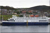 HU4642 : Sea Discoverer, Holmsgarth, Lerwick by Mike Pennington