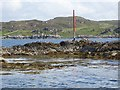 NM6285 : Navigation marker on Sgeir Mhurchaidh by Oliver Dixon