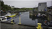 NF8855 : Kallin Harbour by Peter Moore
