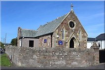 NS2107 : Kirkoswald Parish Church, Maidens Hall by Leslie Barrie