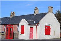 NS2107 : Former Post Office, Maidens by Leslie Barrie