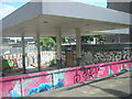 TQ2982 : Former petrol station, Hampstead Road by Christopher Hilton